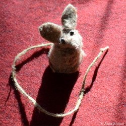 Hans, handmade mouse