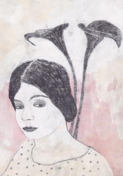 portrait of Tina Modotti