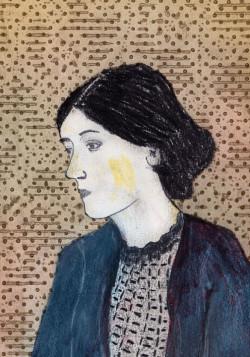 portrait of Vrginia Woolf