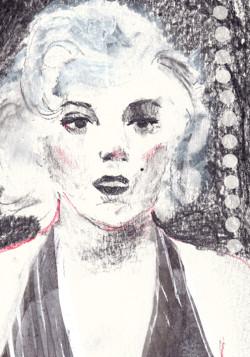 Mportrait Marilyin Monroe